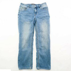Chicos So lifting Stretch Blue Denim Jeans 00 Larg